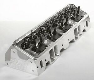 Afr Sbc 235cc Competition Cnc Ported Cylinder Heads Titanium Retainers 1132 Ti