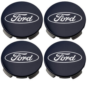 2015 2018 Ford F 150 Blue Ford Oval Logo 20 Wheel Center Cap Hub Covers Oem New