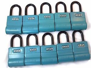 10 Shurlok Key Storage Locks Lock Box Real Estate Realtor Lockbox