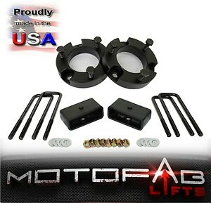 2 Front And 2 Rear Leveling Lift Kit For 1999 2006 Toyota Tundra Made In Usa