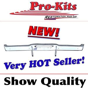 Fits 1968 69 70 Dodge Charger Rear Bumper Complete With Bumperettes New