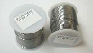 Lot Of 4 60 40 Rosin Core Solder 1 Pound spls