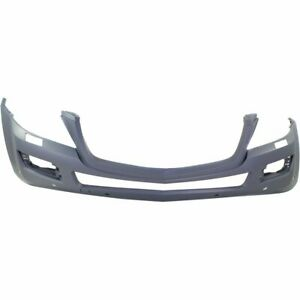 Front Bumper Cover For 2008 09 Mercedes Benz Gl550 W Hlw Parktronic Curve Lgtng