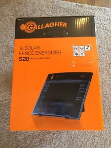 Gallagher S20 Super Charger Energizer Electric Fence
