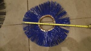 19 Total 22 Nylon Wire Power Scrubber Wafer Disc Assembly 7 Bristles New