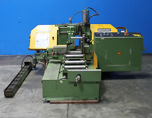 12 X 10 Behringer Automatic Horizontal Metal Cutting Band Saw