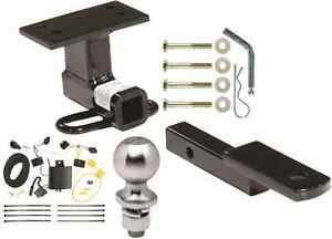 Complete Trailer Hitch Package W Wiring Kit Fits 2012 2017 Vw Tiguan Class Ii
