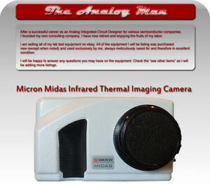 Mikron Midas Professional Infrared Thermal Imaging Camera 320x240