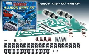 Transgo Allison 1000 2400 Transmission 5 Spd Racing Shift Kit 2001 04 Allison Sk