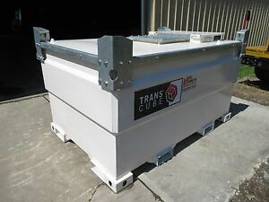 New Transcube 30tcg 792 Gallon Fuel Tank 20gpm Transfer Pump W auto Nozzle