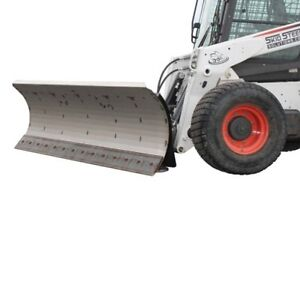 96 Hd Series Snow Plow For Skid Steer Loaders With Free Tire Studs