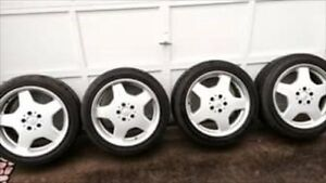 Michelin Pilot Sport 245 45zr18 Front 275 40zr18 Rear Wheels And Tires