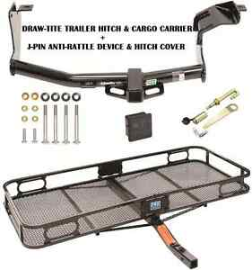 14 19 Mitsubishi Outlander Trailer Hitch Cargo Basket Carrier Silent Pin Lock