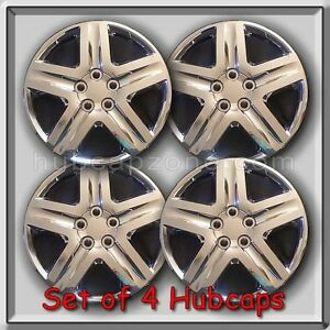 Set Of 4 16 Chrome Toyota Matrix Hubcaps For 2003 2010 Matrix Wheel Covers