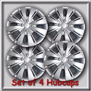Toyota Yaris 15 Hubcaps Replica 2012 2014 Toyota Yaris Silver Wheel Covers