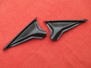 Restored Matched Pair Of Mgb Defroster Vents