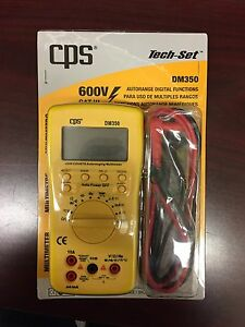 Cps Autorange Digital Multimeter Dm350
