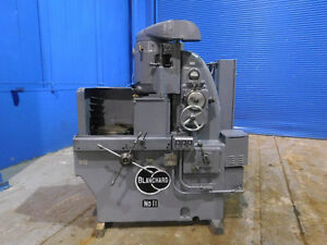 20 Swing Blanchard Rotary Surface Grinder 16 Chuck Metal Grinding 15 Hp