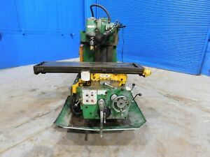 13 5 x 59 5 Table Cincinnati Horizontal Vertical Metal Milling Machine