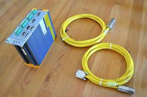 New Parker Compax3 S025v2f10i20t30 Servo Motor Drive Controller With Cables cnc