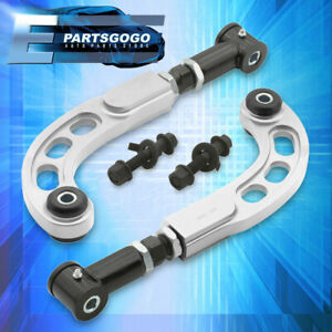 2005 2010 Scion Tc Suspension Front Bolt Black Rear Camber Arm Rod Kit Silver
