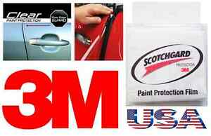 3m 4 Door Edge Scratch Clear Guards Trim Protector Film Scotchgard Car Truck Van