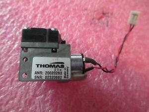 Thomas Miniature Diaphragm Vacuum Air Pump 2vdc 20020263 1319t7 5s 1307