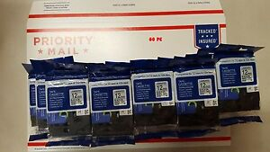 60pk Black On White Label Tape Non oem For Brother Tz 231 Tze 231 P touch 26 2ft