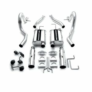 Magnaflow 15638 Stainless Steel Cat Back Exhaust Kit For 94 95 Mustang V8 5 0l