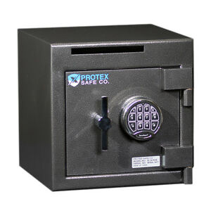 Protex B 1414se Security Safe W Drop Slot And Electronic Digital Lock