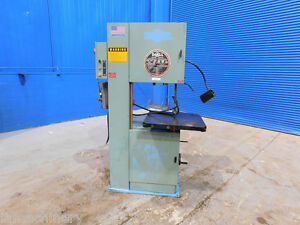 20 Throat Doall Vertical Bandsaw Mdl 2013v 2hp Metal Cutting
