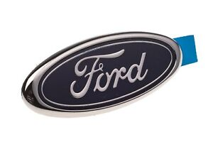 1987 1993 Ford Mustang Rear Blue Oval Trunk Emblem Oem E8fz 5842528 C
