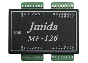 Usb Daq Mf126 Data Acquisition 14ai 4ao 10dio Pwm Cnt And Free Software
