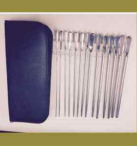 14 Pc set Dittel Urethral Sounds Gynecology Surgical Astm 420 German Stainless