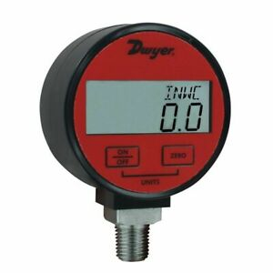Dwyer Dpga 00 Digital Pressure Gauge 30hg To 0 Psi For Air gas 1 Accuracy