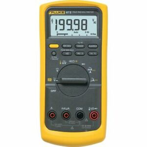 Fluke 87v Industrial Trms Digital Multimeter Cat Iii 1000v Cat Iv 87 5 87 v