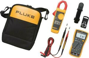 Fluke 117 323 kit Electrician s Combo Kit 117 Multimeter 323 Clamp Meter Kit