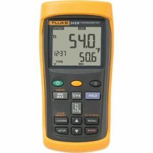Fluke 54 2 b Dual Input Digital Thermocouple Thermometer With Data Logging