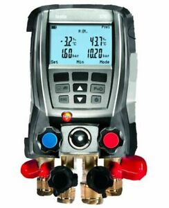Testo 570 Digital Refrigeration System Analyzer W Vacuum Datalogging