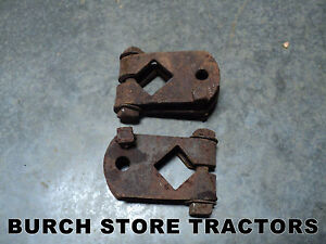 Pair Of Farmall Cub Planter Runner Mounts