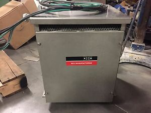 Rex Bc9hm x Stainless Steel Encapsulated Transformer 9 Kva