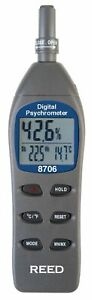 Reed Instruments 8706 Psychrometer Thermo hygrometer