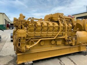 New Caterpillar G3516 Natural Gas 1030kw 50hz Generator Set