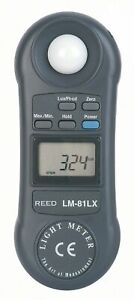 Reed Lm 81lx Compact Digital Light Meter 2 000 Fc 20 000 Lux