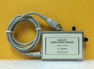 Agilent hp keysight 85027e 10 Mhz To 26 5 Ghz 50 Ohm 3 5mm Directional Bridge