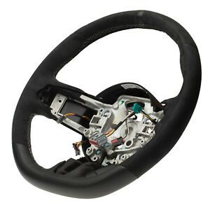 Oem New Leather Steering Wheel W Alcantara Suede 15 17 Ford Mustang Fr3z3600ac