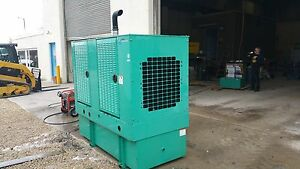35kw Cummins Diesel Generator 4 In Stock