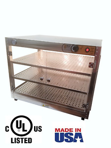 Commercial Food Warmer Heatmax 30x24x24 Pizza Pastry Patty Display Case