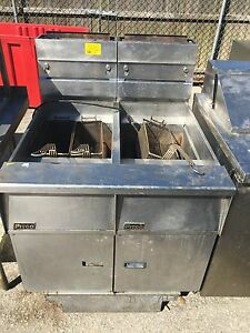 Pitco Double Compartment Deep Fryer