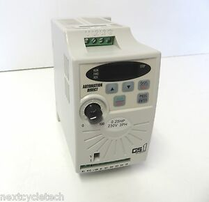 Automation Direct Gs1 20p2 0 25 Hp Inverter Ac Drive 230v 1 3 Phase Input